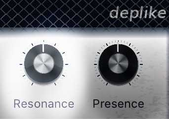 guitar amp resonance knob